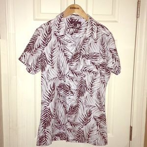 MARC ANTHONY MENS CASUAL SHIRT SIZE S